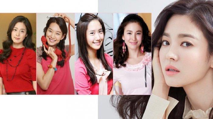 LIHAT Paras Song Hye Kyo, Park Shin Hye, Kim Go Eun, Kim Tae Hee, Benarkah Cantik Tanpa Oplas?