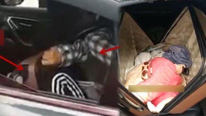 MERINDING Dengar Tangisan dari Koper Penumpang, Sopir Taksi Syok Lihat Isinya Ada Wanita Meringkuk