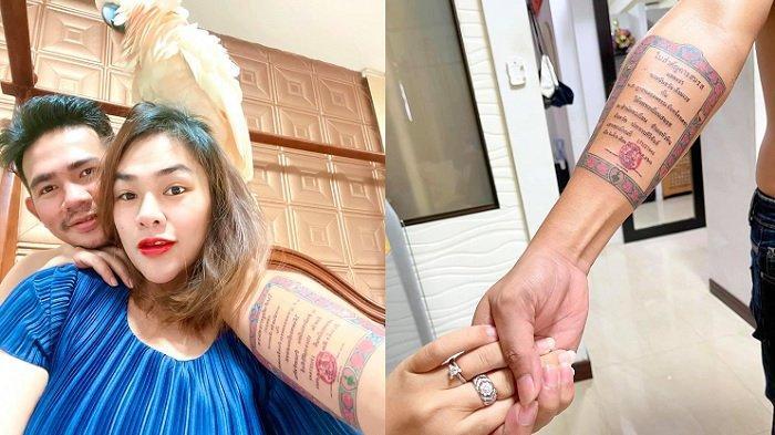 Suami Playboy Tapi Bikin Tato Buku Nikah Demi Buktikan Cinta, Istri Langsung Luluh, Curhatnya Viral