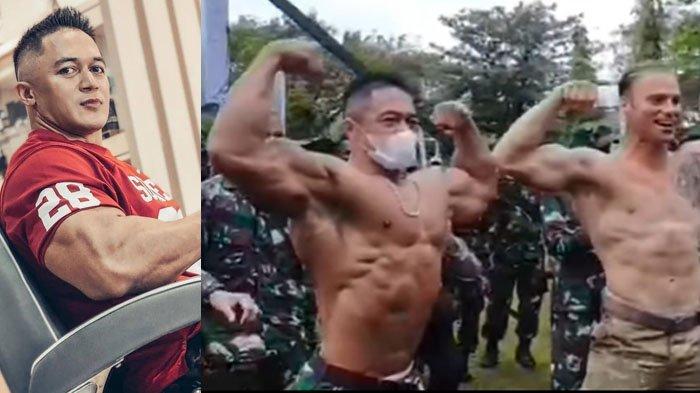 SOSOK Serma Atang Efendi, TNI Berotot Buat Tentara Amerika Takjub, Pendamping Fitnes KSAD Andika