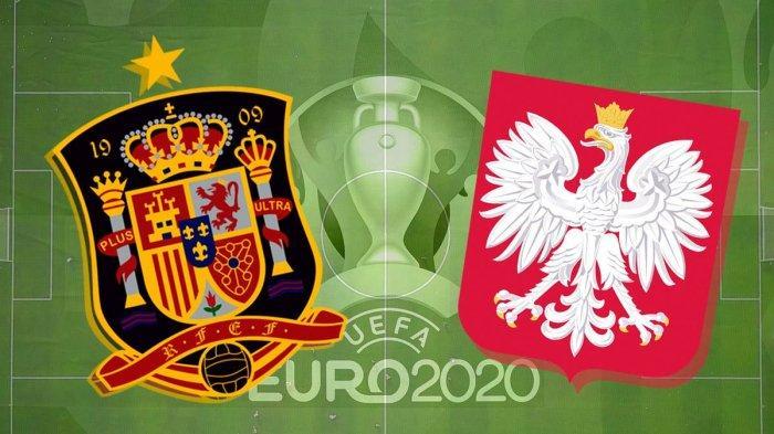 HASIL PERTANDINGAN Spanyol vs Polandia Euro 2020, Gol Alvaro Morata dan Lewandowski Buat Skor Imbang