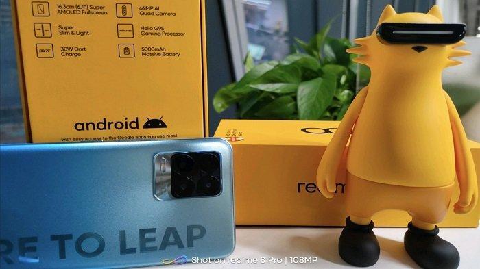 BOCORAN Spesifikasi Realme 8 & 8 Pro, Bawa Snapdragon 730G & Kamera Canggih 108 MP?