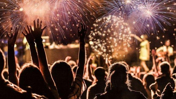 SAAT Semua Kota Larang Perayaan Malam Tahun Baru, Betapa Meriah di Wuhan, Kota Asal Covid, Lihatlah!