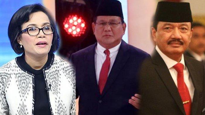 Deretan Momen Keakraban Prabowo, Sri Mulyani hingga Budi Gunawan Jelang Rapat Bareng Jokowi-Maruf