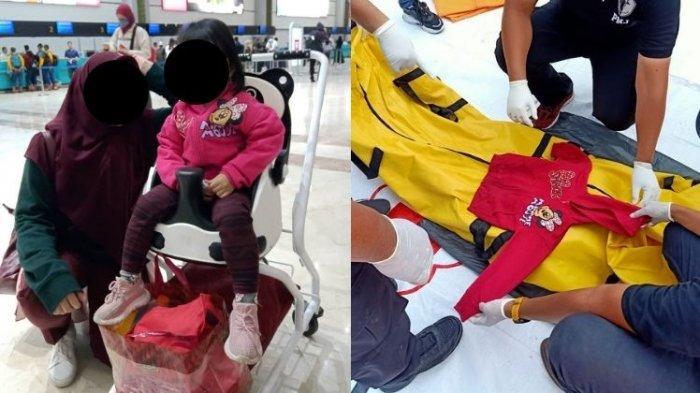 'Daa!' Kata Terakhir Bocah Berjaket Minimouse Sebelum Jadi Korban Sriwijaya Air dengan Adik di Rahim
