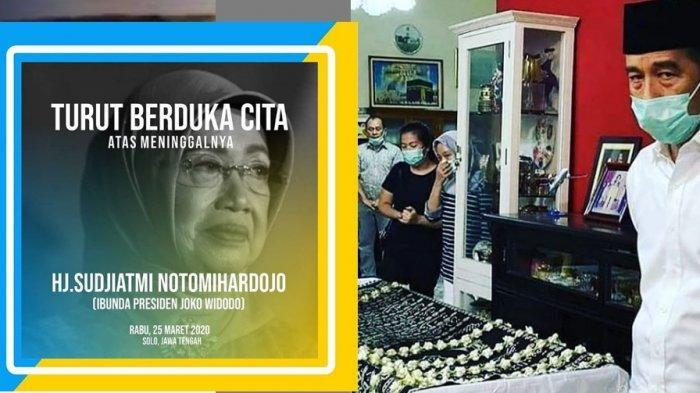 Momen Terakhir Ibunda Presiden Jokowi Sebelum Wafat, Ingin Segera Salat Ashar, Isi Wasiatnya Mulia