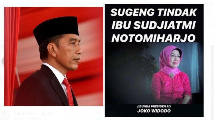 Ibunda Jokowi Meninggal, Presiden Ungkap Masa-masa Berat Almarhumah Sujiatmi Hadapi Penyakitnya