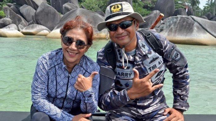 Penghormatan Susi Pudjiastuti untuk Awak KRI Nanggala 402, Unggah Foto Kenangan dengan Kolonel Harry