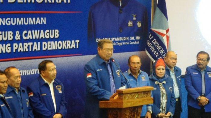 Sebut Demokrat Berkabung & Akal Sehat Telah Mati, SBY: 'KLB Itu Nobatkan Moeldoko Jadi Ketum Partai'