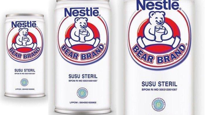 Susu beruang merek Bear Brand keluaran Nestle