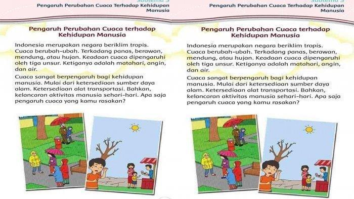 KUNCI JAWABAN Tema 5 Kelas 3 SD/MI Halaman 126 Tabel Tanaman yang Tumbuh Subur di Daerah Asal