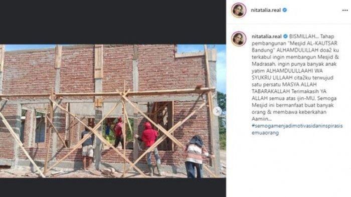 Tahap pembangunan masjid Nita Thalia