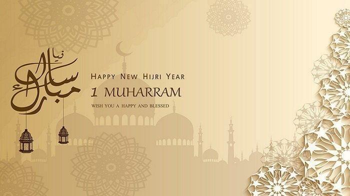 10 Contoh Kartu Ucapan Selamat Tahun Baru Islam 1 Muharram 1442 H, Bagikan di WhatsApp dan Instagram - Tribunnewsmaker.com