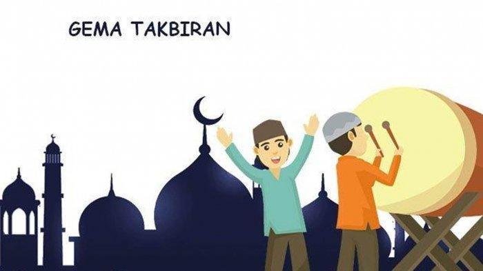 Bacaan Takbir saat Idul Fitri 1442 H dan Artinya, Lengkap dengan Sunnah sebelum Sholat Id