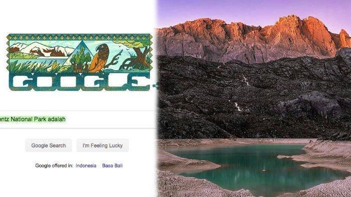 Taman Nasional Lorentz, Wisata di Papua, Indonesia Jadi Google Doodle, Ini 4 Faktanya, Bersalju!