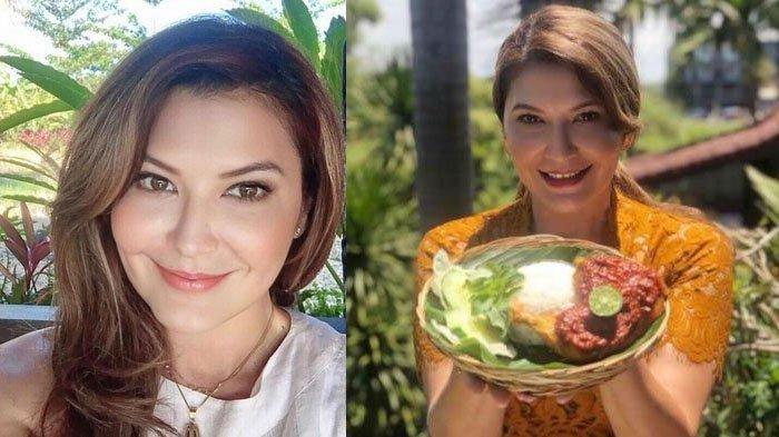 KEHIDUPAN SEDERHANA Tamara Bleszynski di Bali, Angkut Kasur Sendiri, Bantu Warga Terdampak Covid-19