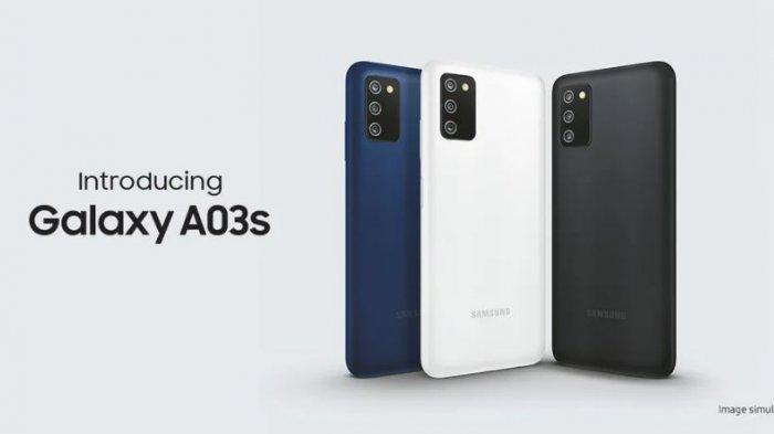 SPESIFIKASI Lengkap Samsung Galaxy A03s, HP RAM 4GB Entry-Level Harga Cuma Rp 1 Jutaan