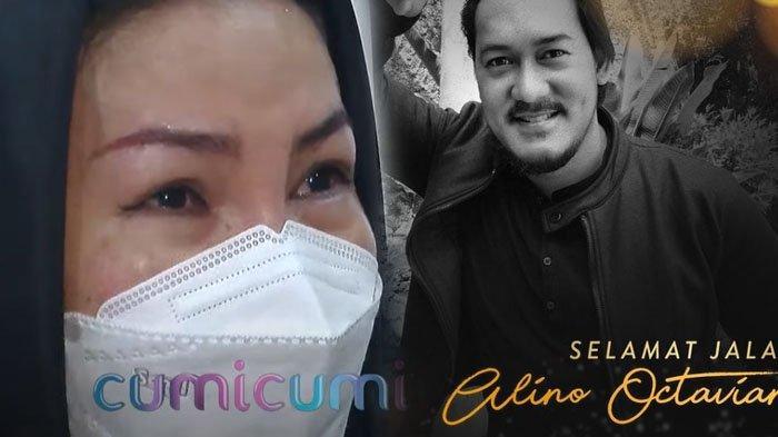 'Hanya Minta Mukjizat', Tangis Istri Alino Octavian Pecah, Lihat Detik-detik Suami Wafat di CCTV