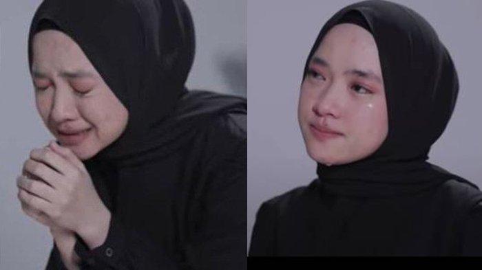 Tangis Kesedihan 'Nyata' Nissa Sabyan Dalam Video Klip Single Sapu Jagat, Ayus Dinilai Menghindar