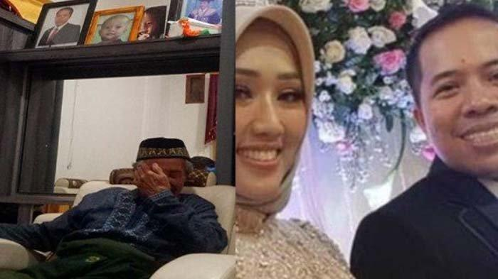 'Pasrah, Kita Milik Allah' Tangis Ponijan, Anak & Mantu Korban Sriwijaya Air, Pilu Ingat Mantu Hamil