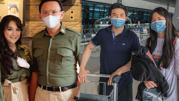 SALAM PERPISAHAN Nicholas Sean Antar Adik ke Bandara, Jawab Soal Ahok Sibuk Urus Puput Nastiti Devi