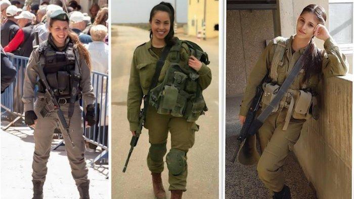 SELALU Siap Perang, Ini Rahasia Wanita Israel yang Jadi Anggota Militer, Paras Cantik Tapi Mematikan