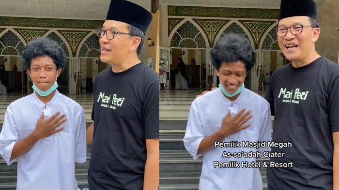Terkuak sosok dan fakta pemuda yang menata sandal di masjid