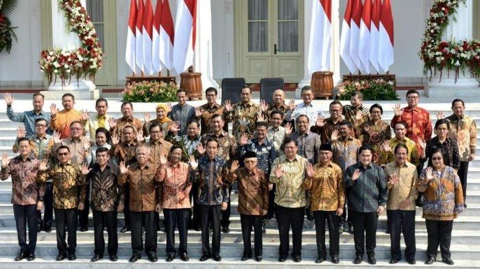 Reshuffle Kabinet Jokowi Dikabarkan Besok 21 April 2021, 6 Menteri Ini Terancam Diganti, Siapa Saja?