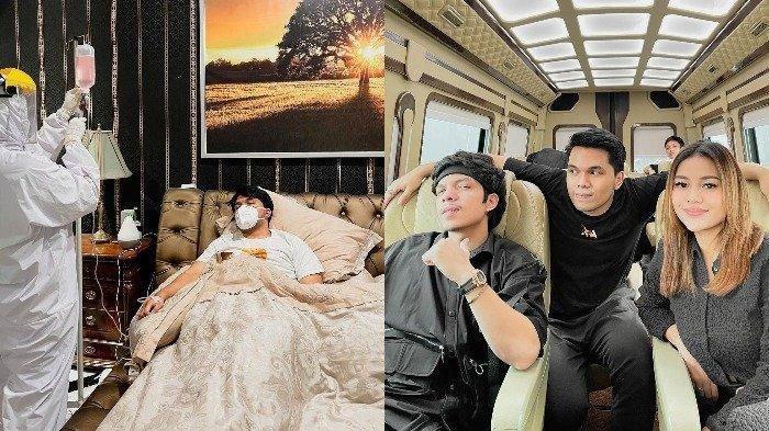 Positif Corona, Thariq Terbaring Lemah hingga Diinfus, Tegaskan Tak Tertular saat Nikahan Atta-Aurel