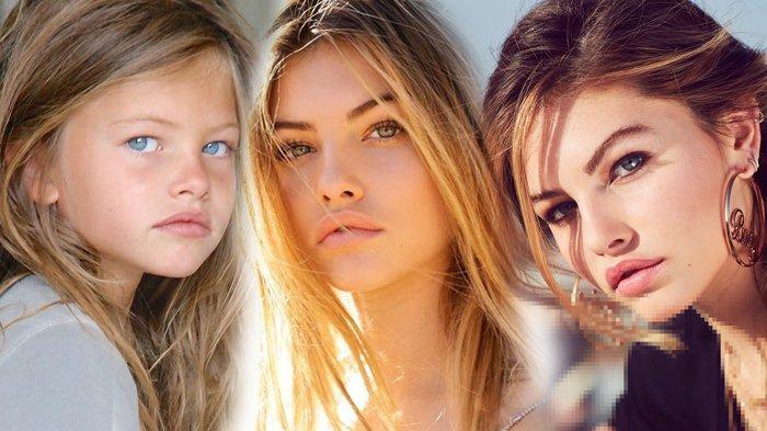 Thylane Blondeau, model cantik asal Perancis.