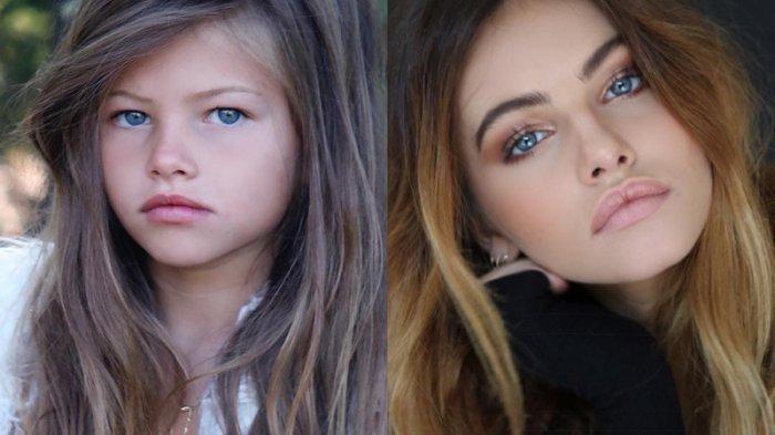 POPULER - Potret Baru Thylane Blondeau, Disebut Gadis Tercantik di Dunia,  Kini Fotonya Kontroversial - Halaman all - Tribunnewsmaker.com
