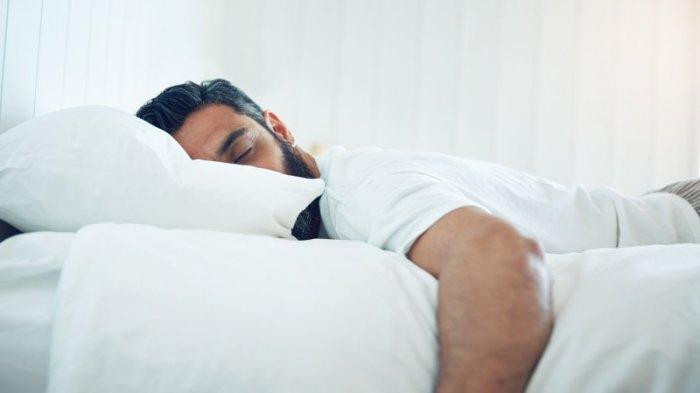 ilustrasi suami tidur