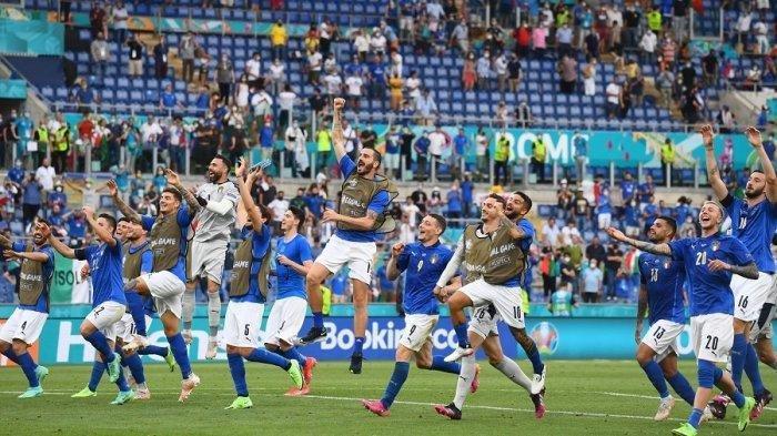 SELAMAT! Italia vs Spanyol Tadi Malam, Gli Azzuri Cs Melenggang Final, Ganyang Spanyol Skor 4-2