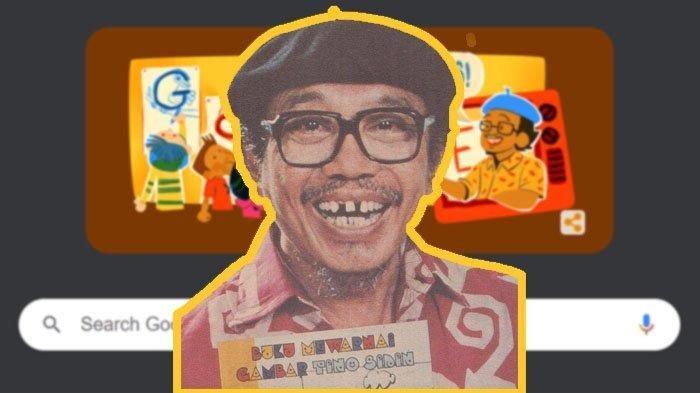 Siapa Sosok Tino Sidin? Figur di Google Doodle Hari Ini, Sepak Terjang Pelukis & Guru Menggambar