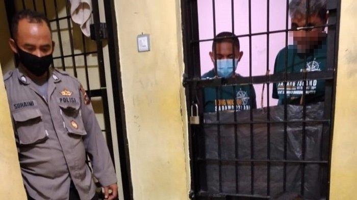 Dua pengendara moge yang keroyok anggota TNI di Bukittinggi ditahan polisi.