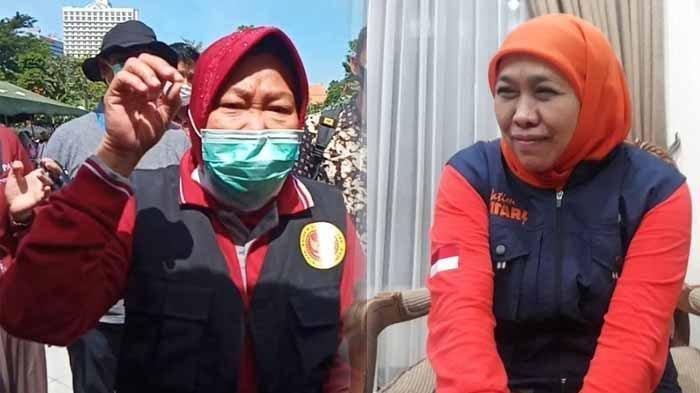 Jokowi Minta Covid-19 di Jawa Timur Ditekan dalam 2 Minggu, Ini Jawaban Khofifah dan Tri Rismaharini