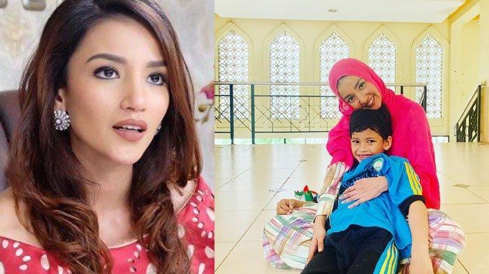 Foto Bareng Anak Sulung, Tsania Marwa Pajang Caption Penuh Pesan Soal Cara Menghargai Perempuan