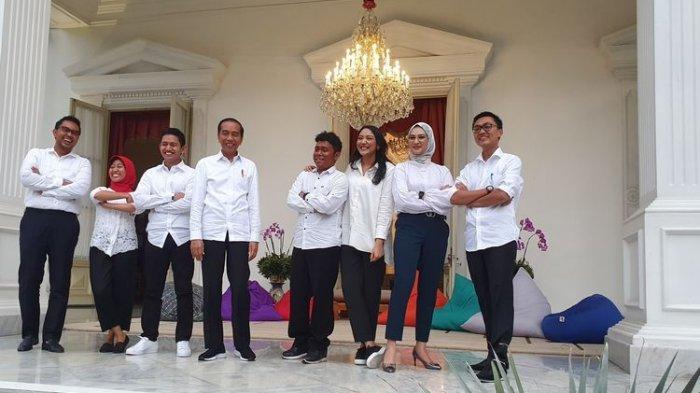 7 Milenial Termasuk Putri Tanjung & Angkie Jadi Staf Khusus Presiden Jokowi, Intip Besaran Gajinya