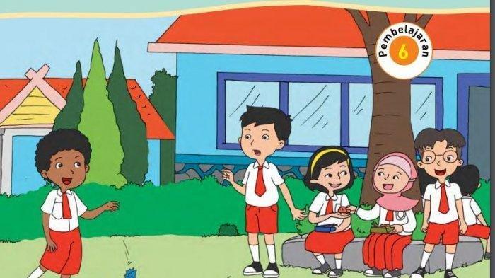 KUNCI JAWABAN Tema 8 Kelas 5 subtema 1, 2, 3, 4, Belajar Toleransi dari Permainan Tradisional Anak