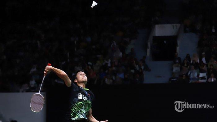 SEDANG TAYANG LIVE STREAMING TVRI, Indosiar Olimpiade Tokyo 2020: Anthony Ginting vsKanta Tsuneyama