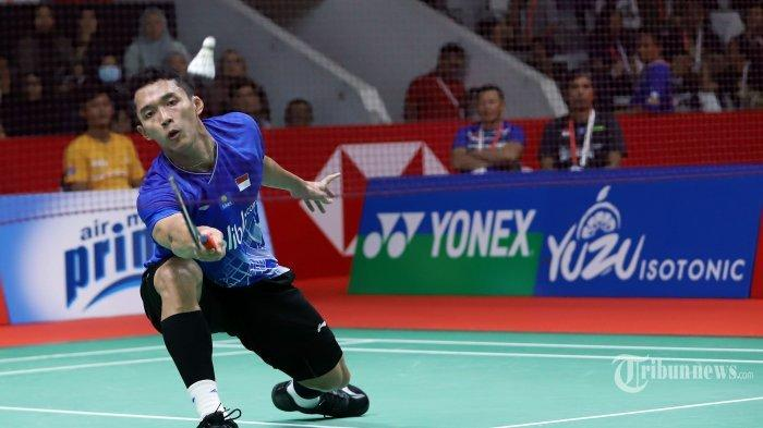 SEDANG TAYANG Live Streaming TVRI & Indosiar, Jonatan Christie vs Loh Kean Yew Olimpiade Tokyo 2020