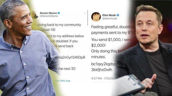 Akun Twitter Elon Mask hingga Barack Obama Diretas, Minta Uang dan Lakukan Penipuan Bitcoin