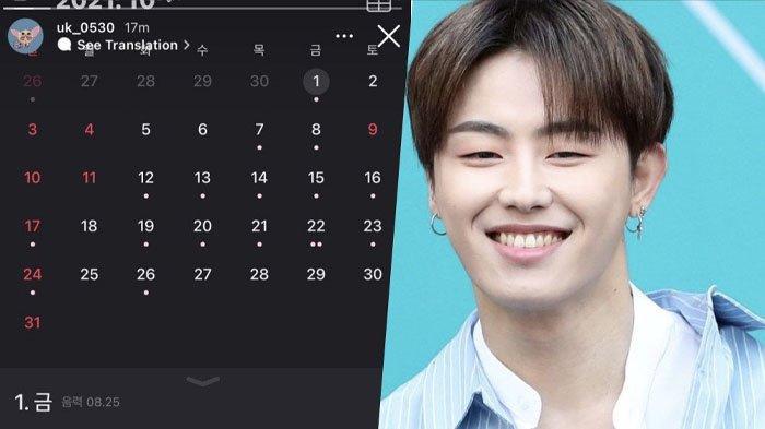 Kabar Gembira untuk Fans Block B, U-Kwon Akan Dipulangkan dari Wamil Lebih Awal, Pamer Foto Kalender