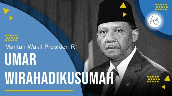 21 Maret Hari Ini 18 Tahun Lalu, Umar Wirahadikusumah, Wakil Presiden Ke-4 RI Meninggal, Innalillahi