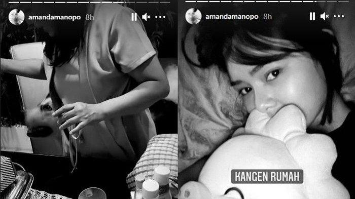Tangis Amanda Manopo Pecah, 'Andin' Ikatan Cinta Unggah Kabar Sedih: Aku Titipkan Mereka Pada Tuhan