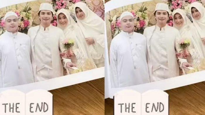 ADA APA? Alvin Faiz Unggah Foto Pernikahan Larissa Chou, Tulis 'The End' dan Emoji Hati Retak