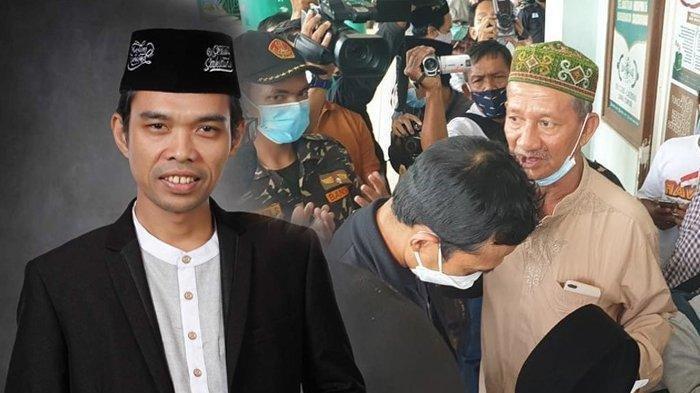 TIBA-TIBA Ustaz Abdul Somad Buka Peci, Minta Kiai Sepuh NU Jatim Tiup Ubun-ubunnya, Terungkap Maunya