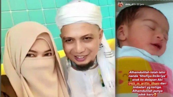 MIRIP Kisah Umi Nadia, Istri Ketiga Ustaz Arifin Ilham Ditinggal Tiada Seusai Lahiran, Ini Kabarnya