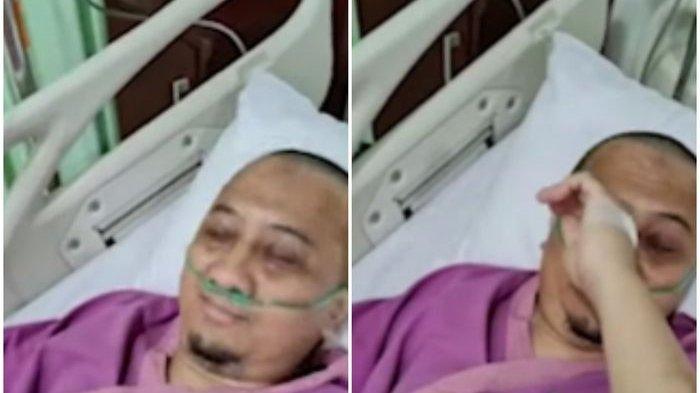 'Tangannya Sudah Biru', Pilu Istri Ust Yusuf Mansur, Sedih Lihat Tangis Suami Saat Transfusi Darah