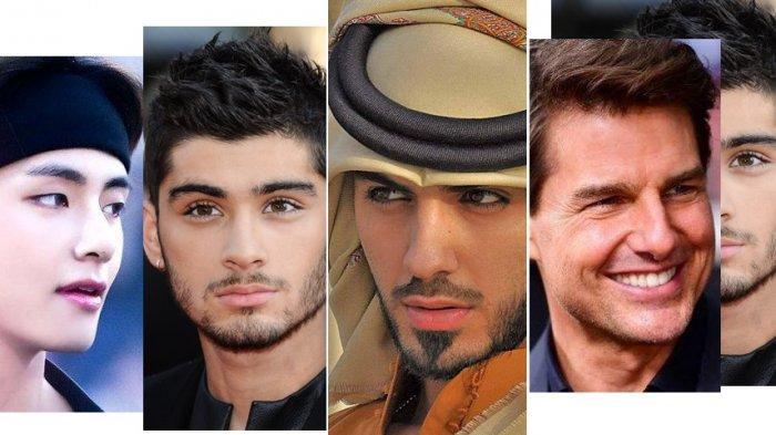 LIHAT! 10 Pria Tertampan Sedunia 2020: V BTS, Zayn Malik, Robert Pattinson, Omar Borkan, Tom Cruise